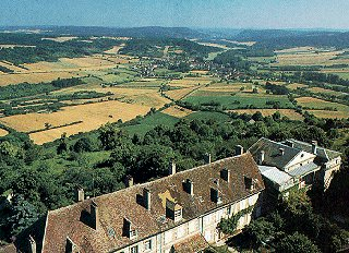 Views of Vezelay.