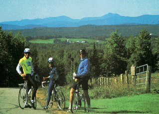 Cycle Through Vermont's Northeast Kingdom