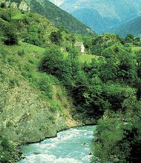 Indulge your taste for fine whitewater in France.