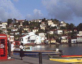 A village on Grenada.