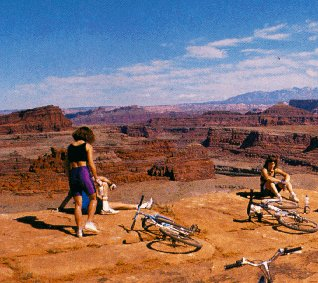 Resting in the Canyonlands Natinal Park.