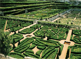 The exquisite gardens of the Loire Valley.