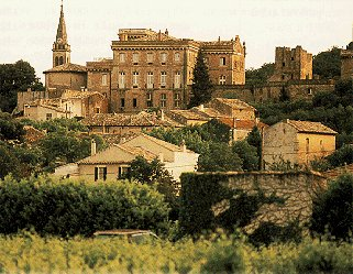 The sunny villages of the Provence region.