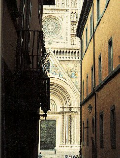 A cathedral in Tuscany.