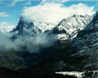 View the spectacular Alps and the Matterhorn.