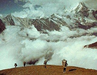 The challenging trek around Dhaulagiri.