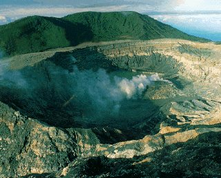 Paos Volcano, one of 60 active volcanoes.