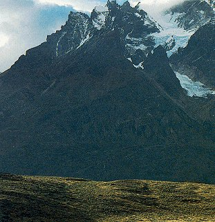A glimpse of Patagonia.
