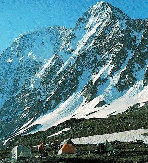 Camping in the Caucasus.