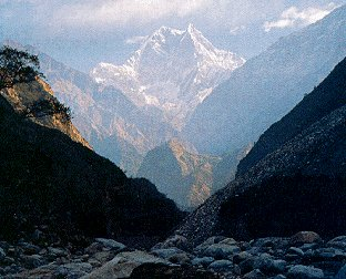 The peaks of West Nepal.