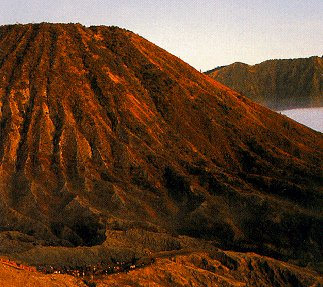 Mt. Bromo in Java.