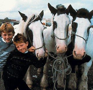 Irish children and friends.