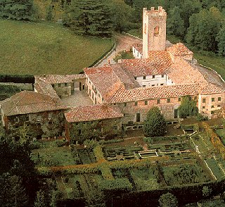 The de' Medici estate in Tuscany.