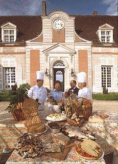 The staff at La Varenne cooking school.