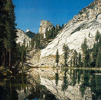 The High Sierra in California.