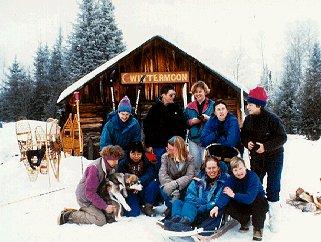 The Wintermoon camp.