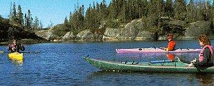 The kayak classroom.