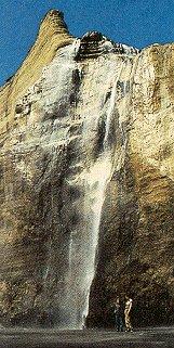 Striking cliffs drop into pristine  bays.
