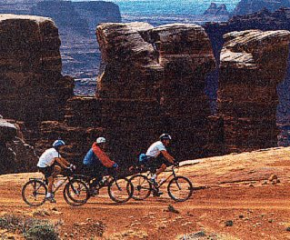 On the go in the Canyonlands.