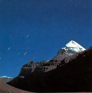 The revered Mount Kailas in Tibet.