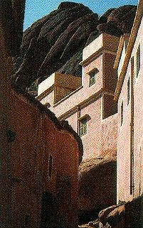 Tafraoute in Morocco.
