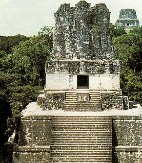 One of Mexico's ancient monuments.