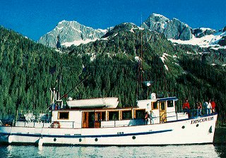 Travel Prince William Sound in style.