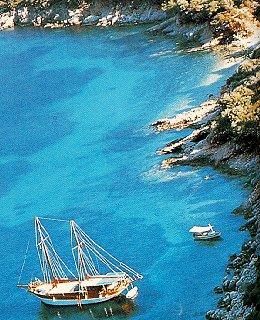 Exploring the crystal seas of Turkey.