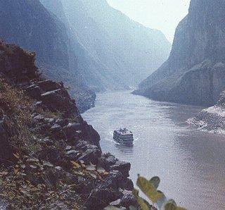 Qutang Gorge on the Yangtze River.
