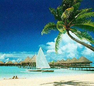 Picture-perfect Polynesia.