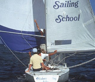 The sailboat is your classroom.