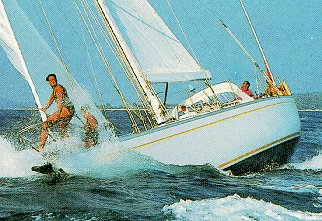 The thrill of sailing.