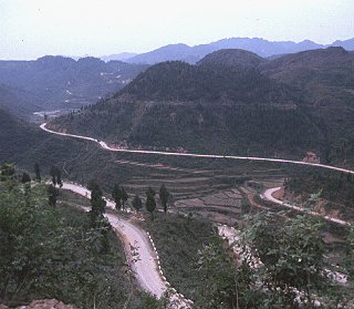 The roads of Yunnan Province.