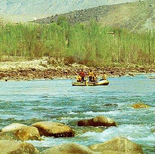 Rafting Pakistan's frontier.