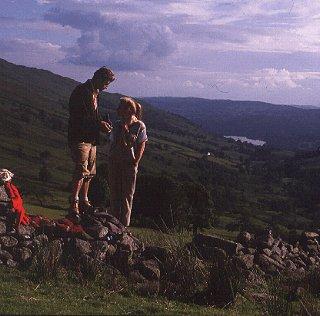 Walking the Lake District.