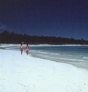 Dominican Republic is a popular windsurfing spot.