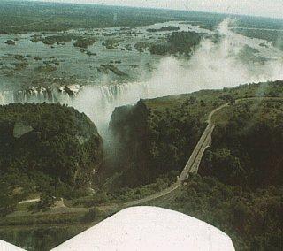 Visit Victoria Falls.